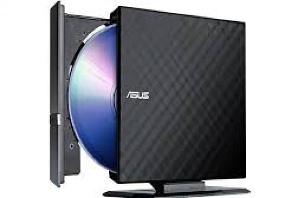 REGRABADORA EXTERNA SILM ASUS SDRW-08D2S-U LITE USB BLACK
