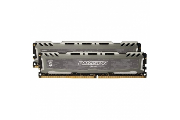 MEMORIA 8GB(2X4GB) DDR4 2400 CRUCIAL BALLISTIX SPORT LT