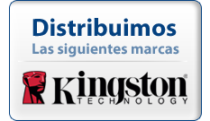 Distribuidor Oficial Kingston