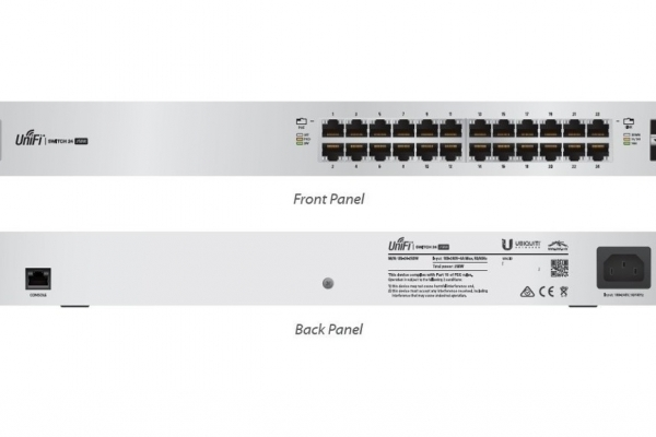 REDES UBIQUITI SWITCH 24 PTOS UNIFI GIGABIT US-24