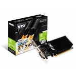 TARJETA GRAFICA GEFORCE MSI GT710 2GB GT710 2GD3H LP
